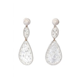 LC Jewellery Bahama Earrings - White