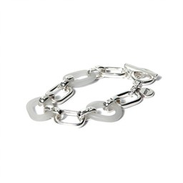 LC Jewellery Barbuda Bracelet in Silver