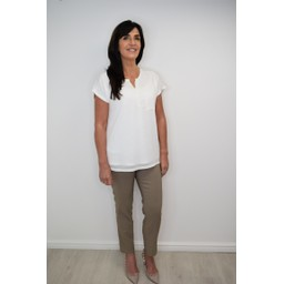 Robell Trousers Rose 09 Trousers in Taupe