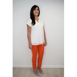 Robell Trousers Rose 09 Trousers in Orange