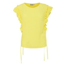Fransa FR Cafine 2 Blouse - Yellow