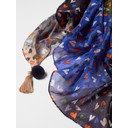 Sofia Printed Silk Scarf - Multicoloured - Alternative 2