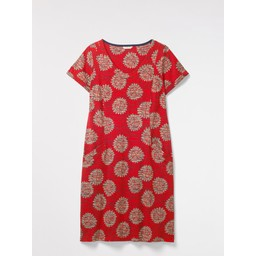 White Stuff Selina Fairtrade Dress - Red