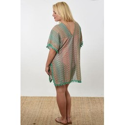 Lucy Cobb Karlie Kaftan - Turquoise