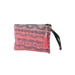 Lucy Cobb Caribe Clutch - Neon Pink