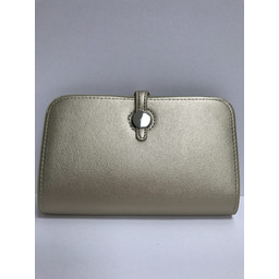 Lucy Cobb Travel Wallet with Purse in Gold