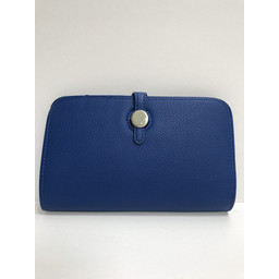 Lucy Cobb Travel Wallet with Purse - Blue
