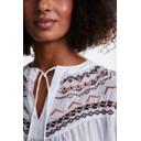 Tassel Tie Top - White - Alternative 4