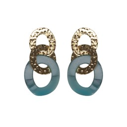 Lucy Cobb Louise Earrings - Blue