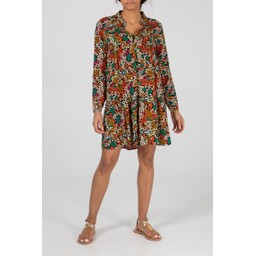 Lucy Cobb Long Sleeve Millie Tunic - Multicoloured