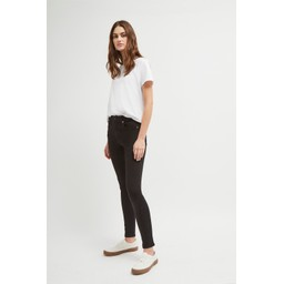 French Connection Rebound Organic Cotton 30 Inch Skinny Jean in Black (90)