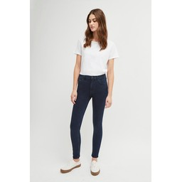 French Connection Rebound Organic Cotton 30 Inch Skinny Jean in Blue Black