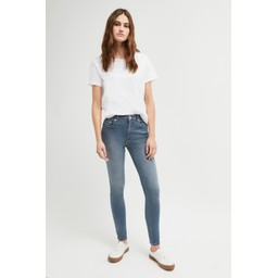 French Connection Rebound Organic Cotton 30 Inch Skinny Jean - Blue Grey