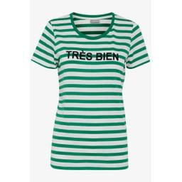 Fransa FRcioui 1 T Shirt - Green