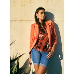 Fransa Zablazer 1 Blazer - Orange