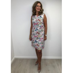 Alice Collins Molly Dress in Floral Butterfly