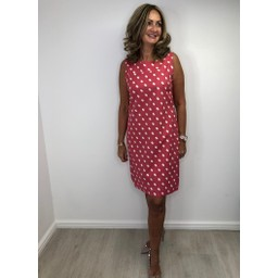 Alice Collins Molly Dress in Sunset Twin Dot