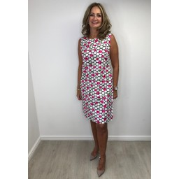 Alice Collins Molly Dress in Rose Dot