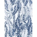 Rose 09 Leaf Print Jacquard Trousers - Light Denim Blue - Alternative 1