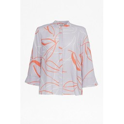 Great Plains Ava Abstract Blouse - Grey Mix