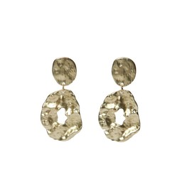 LC Jewellery Haiti Earrings - Gold