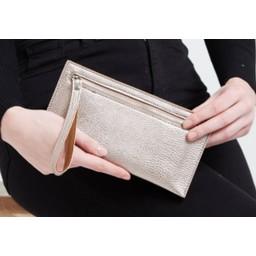 LC Bags Zip Wallet - Rose Gold