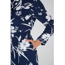 Floral Shirt Dress - Navy - Alternative 2