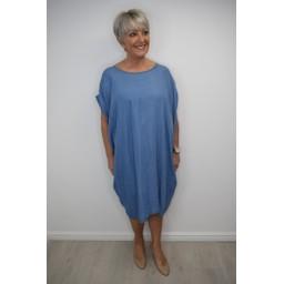 Lucy Cobb Demii Denim Dress - Denim
