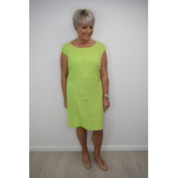 Deck Grace Dress in Lime