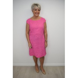 Deck Grace Dress in Fuchsia