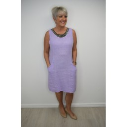 Deck Kerrie Dress in Lilac