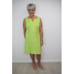 Deck Hazel Dress in Lime