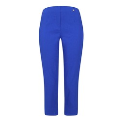 Robell Trousers Marie 07 Capri Trousers in Royal