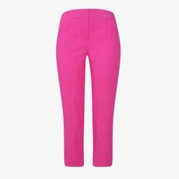 Robell Trousers Marie 07 Capri Trousers in Pink