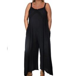 Malissa J Strappy Jumpsuit - Black