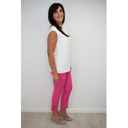 Robell Trousers Lena 09 Trousers in Pink (431)