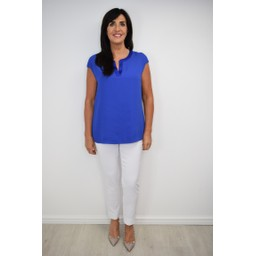 R.O.B Celine V Neck Top - Royal