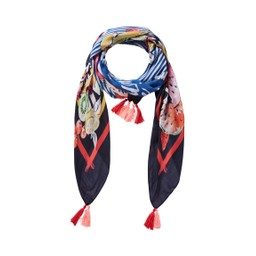 Oui Fruit Scarf - Multicoloured