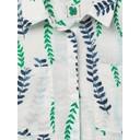 Sprig Linen Shirt - White Multi - Alternative 2