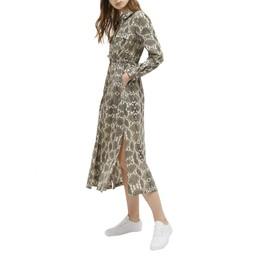 b0a14648d24 French Connection Snakeskin Midi Dress - Snake Print