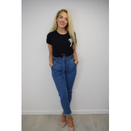 Fransa FRDIORGANA 1 T-Shirt - Black