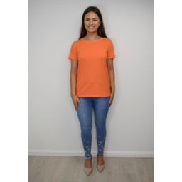 Fransa Zashoulder 1 T-shirt - Orange