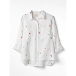 White Stuff Flyaway Shirt - White
