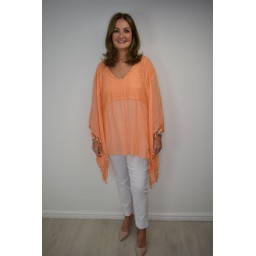 Lucy Cobb Kaitlyn Kaftan in Orange