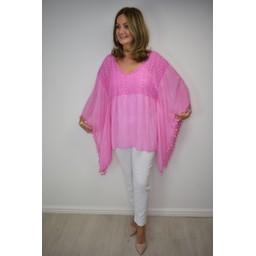 Lucy Cobb Kaitlyn Kaftan in Pink