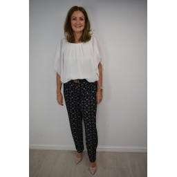 Lucy Cobb Kendra Top - White