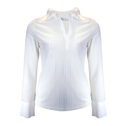 Deck Sandra Stretch Shirt - White