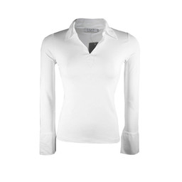 Deck Sarah Stretch Shirt - White