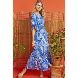 Onjenu Gabriella Dress - Frida Blue