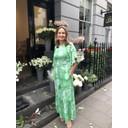 Gabriella Dress - Frida Green
